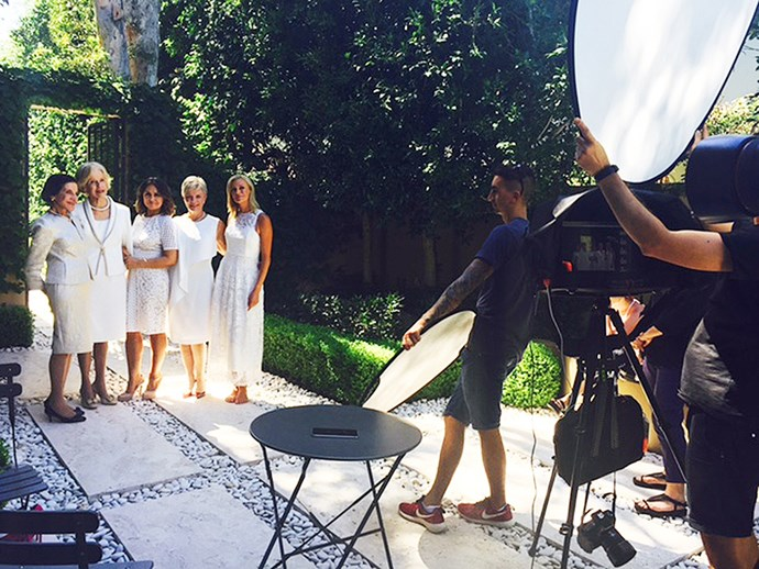 Our shoot, featured in our May issue, was shot in the courtyards of The Royal Children's Hospital in Melbourne.