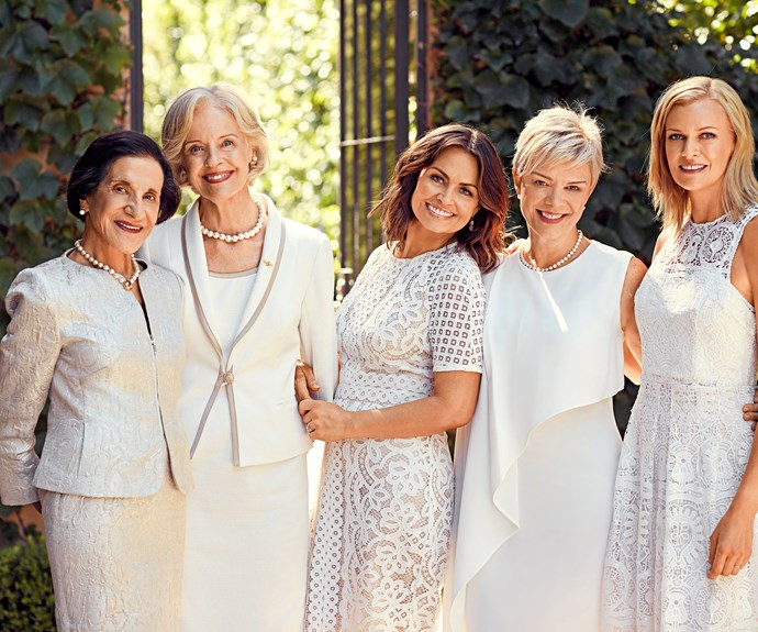 Dame Marie Bashir, Professor Kathryn North, Dame Quentin Bryce, Lisa Wilkinson and Sarah Murdoch all came together to celebrate the bond and love between mother and daughter.
