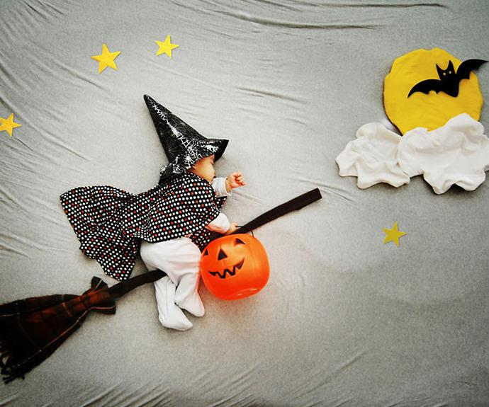 Or riding broomsticks on Halloween?