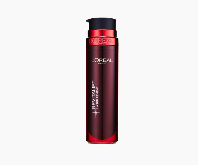 L'Oréal Revitalift Laser X3 Complete Care SPF15, 50ml, $44.95.