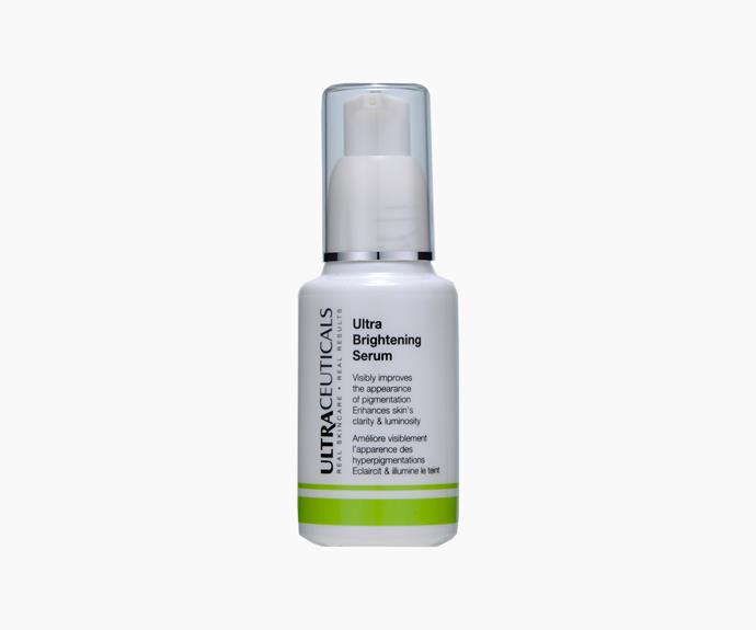 Ultraceuticals Ultra Brightening Serum, 30ml, $135.