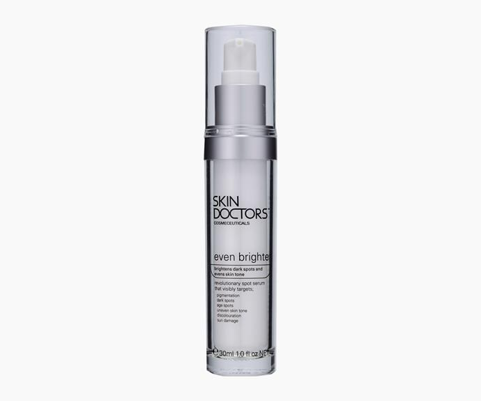 Skin Doctors Even Brighter, 30ml, $39.95.