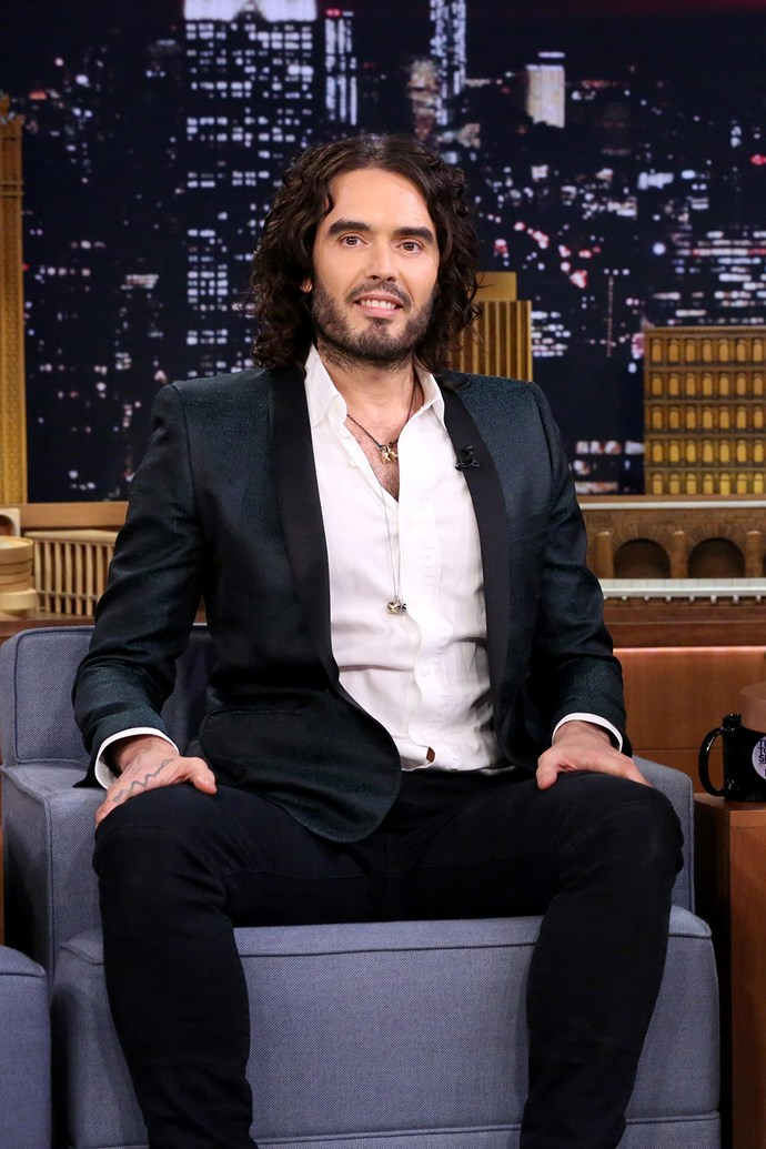 """**Russell Brand** Brand has been previously arrested on drug-related charges 12 times, and has admitted to taking everything from acid to heroin.   """"Staying sober is a daily challenge. I mean, my problem now is not, 'Oh God, I'm gonna leap over that bar and grab some Cognac,' or go out and try to find out where you score smack round here. And I'm sure I could do it within 90 minutes if I needed to. It's much more about not getting resentful about things. Really, it's a spiritual thing."""""""