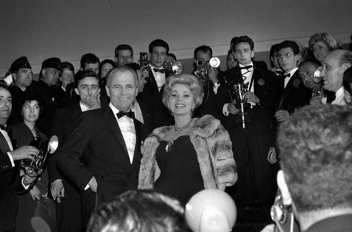 Hungarian actress, Zsa-Zsa Gabor, circa 1960.