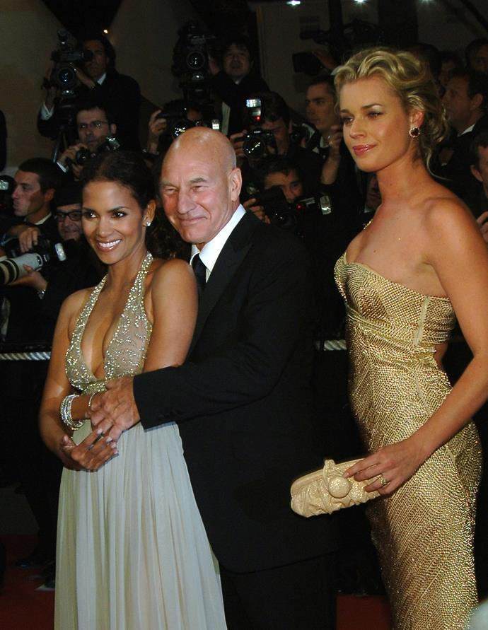 Halle Berry, Patrick Stewart and Rebecca Romijn promote *X-men 3: The Last Stand* in 2006.