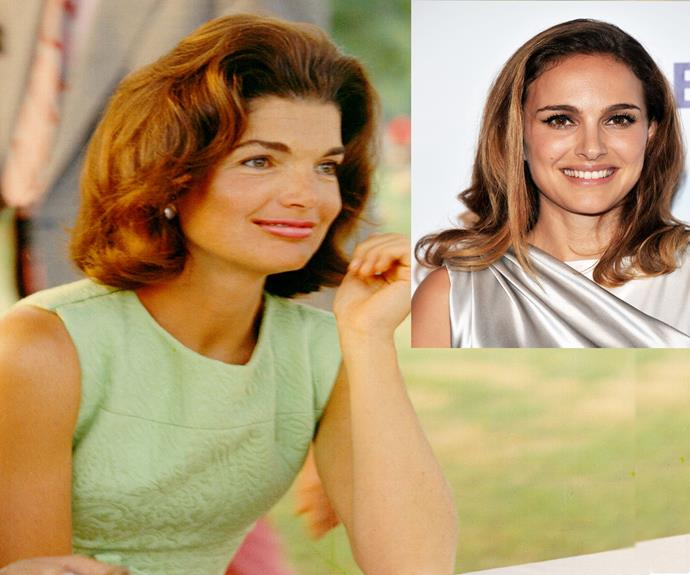 Natalie Portman and Jacqueline Kennedy.