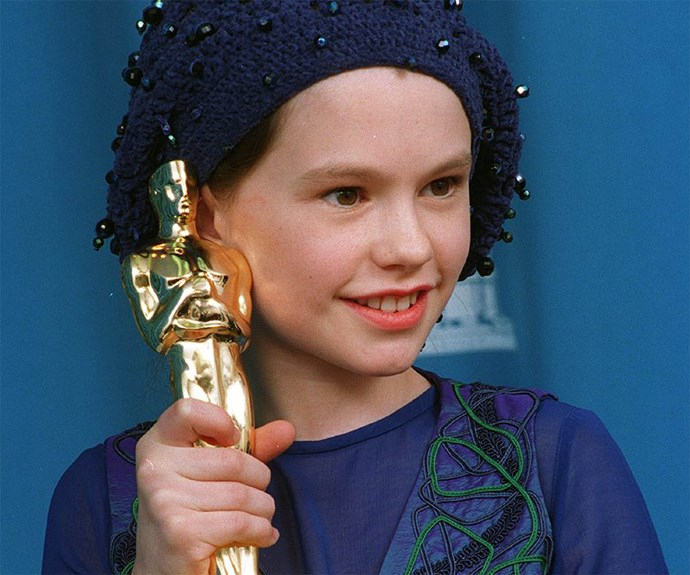 **A star is born** At just 11 years of age, Anna Paquin became the second youngest Oscar winner in history for her work in *The Piano*.
