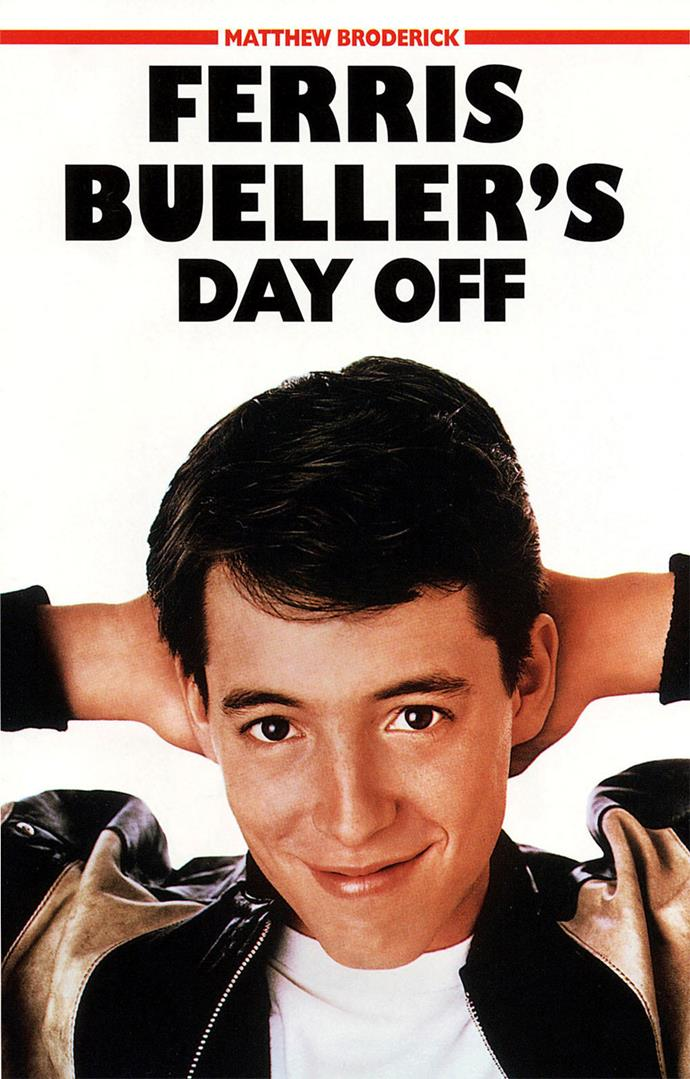 Ferris Bueller's Day Off premiered nearly 31 years ago.