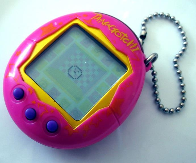 Tamagotchis are 19 years old.