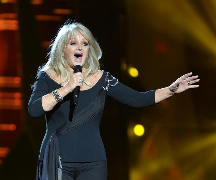 Bonnie Tyler got mixed reviews for her performance in 2013.