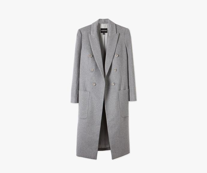 [Country Road Longline coat](http://www.countryroad.com.au/shop/woman/clothing/jackets-and-coats/60177431/Longline-Coat.html), $399.00.