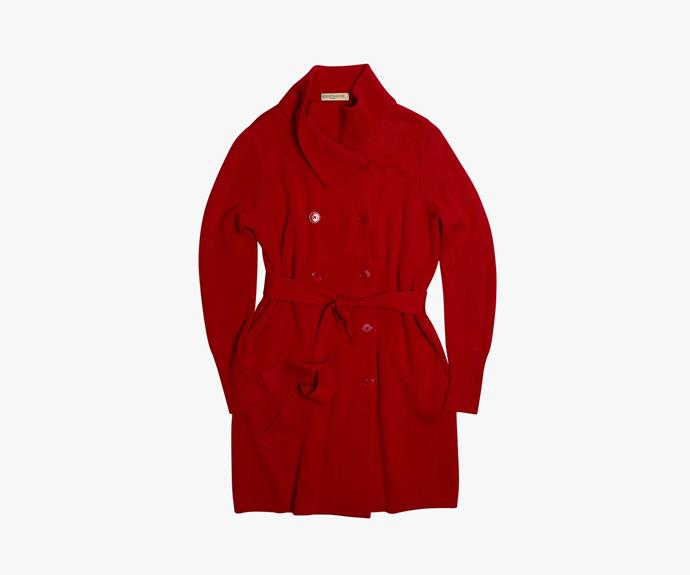 [Meredith Avenue Coat](http://www.meredith.com.au/womens-jackets/red-avenue-coat_1007269/), $209.00.