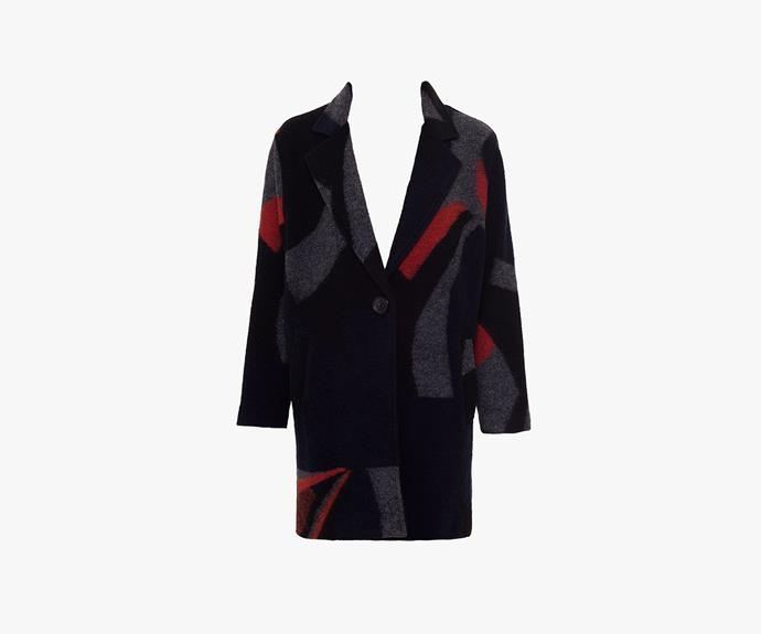 [Yarra Trail Long Sleeve Graphic Jacket](http://www.yarratrail.com.au/jackets/graphic-jacket-multi-15w6712.html), $249.00.