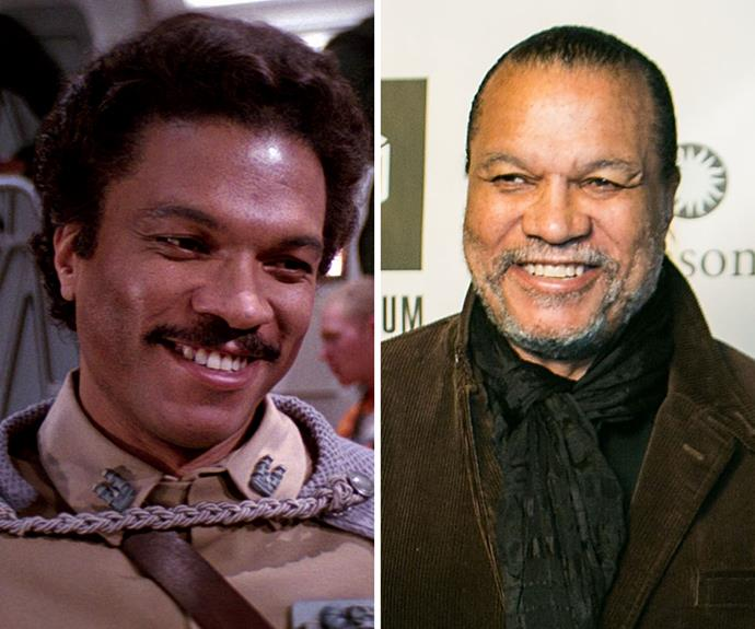 Billy Dee Williams: Williams played Lando Calrissian in the first three Star Wars films. Since then, he has appeared on Dancing with the Stars, released a jazz record, made a name for himself as a painter, guest-starred on numerous TV shows and loaned his voice to several video games. He will not appear in the new Star Wars film, to the horror of fans.