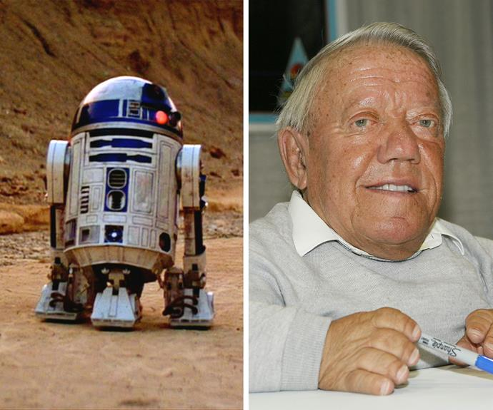 Kenny Baker: Baker found fame as R2-D2 in the original trilogy and later in the most recent films. In between, he tried his hand at stand-up comedy and playing the harmonica in a band. Despite his long-running feud with Anthony Daniels, who plays C-3PO, Baker will also return in the new Star Wars movie.