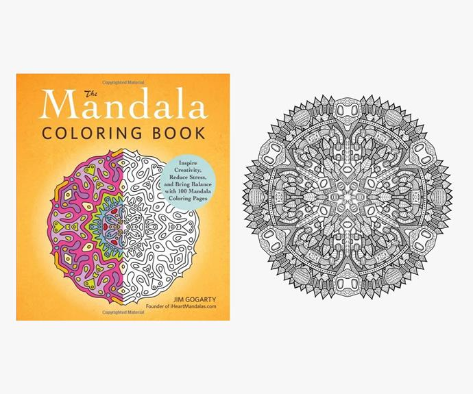 [The Mandala Colouring Book by Jim Gogarty](http://www.adamsmediastore.com/mandala-coloring-book).
