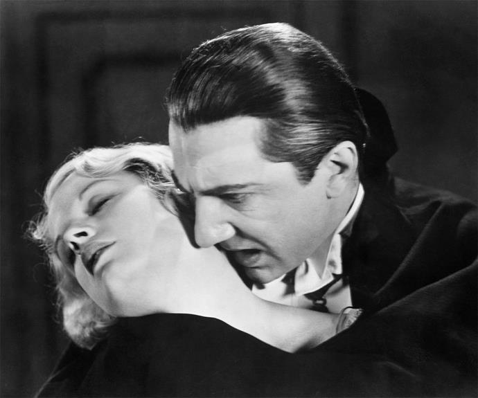When Bela Lugosi swept onto the stage in the 1931 classic **Dracula**, he horrified viewers with his eerie performance. The slick hair and pointed cape eventually faded out in later adaptions, but his blood-sucking ways never did.
