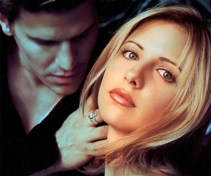 Picking up the sexy vampire thread from Brad Pitt and Tom Cruise, David Boreanaz's Angel in **Buffy the Vampire Slayer** won teenage hearts all over the world.