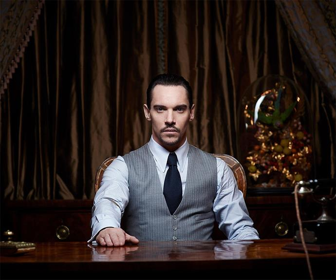 Jonathan Rhys Meyer's modern TV show, **Dracula**, didn't fare well in the ratings, but his portrayal was slick.
