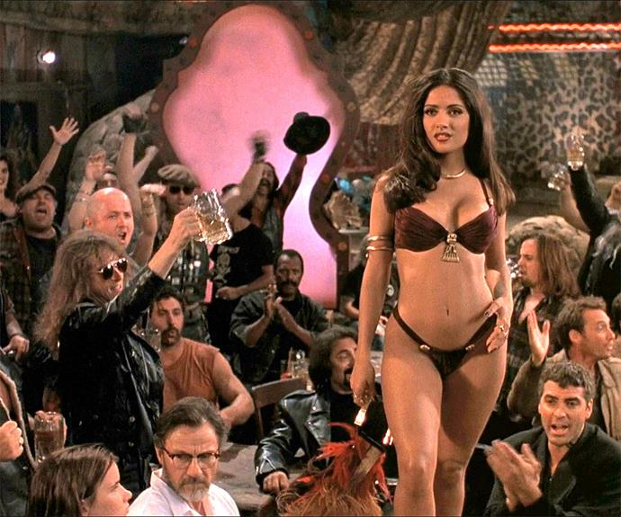 As did Salma Hayek. Her **From Dusk til Dawn** character, Santanico Pandemonium, was as sexy as she was dangerous.