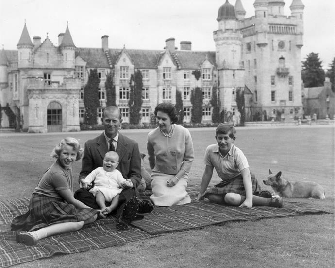 Elizabeth and Philip had four children together, Prince Charles, Princess Anne, Prince Andrew and Prince Edward.