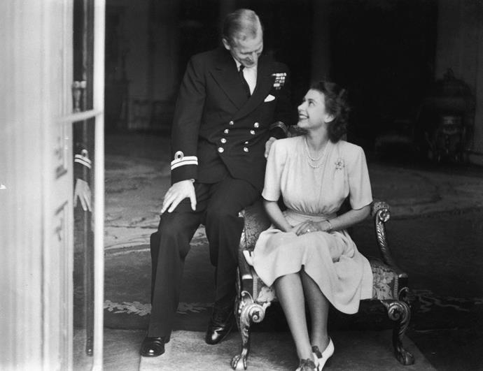 Prince Philip abandoned his Danish and Greek princely titles and fell back on his military rank, Lieutenant, in order to marry the Princess Elizabeth.