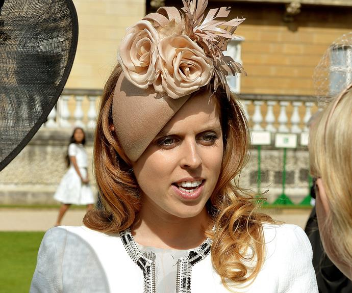 No royal event is complete without a strange hat or two, and Princess Beatrice's millinery confection was right up there.