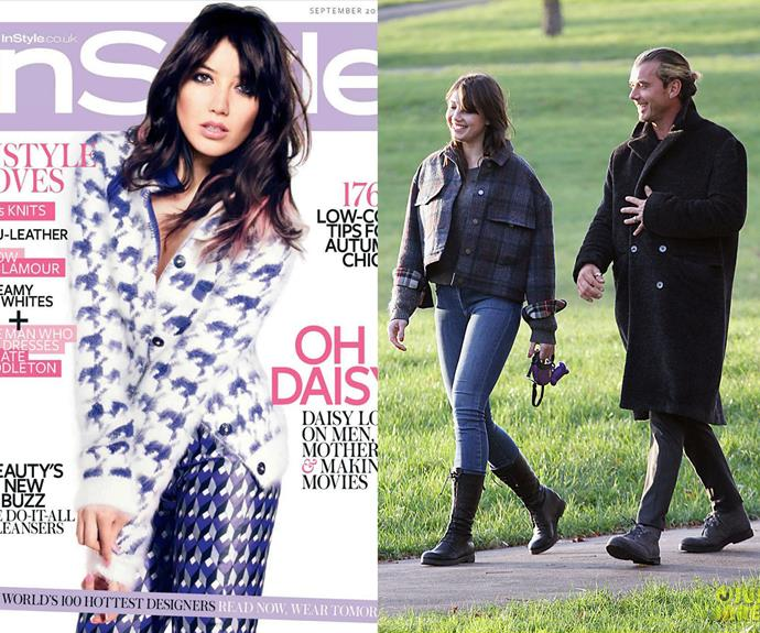 English rose and Playboy star, Daisy Lowe, is the daughter of Bush rocker, Gavin Rossdale (so yes, Gwen Stefani is her step-mother).