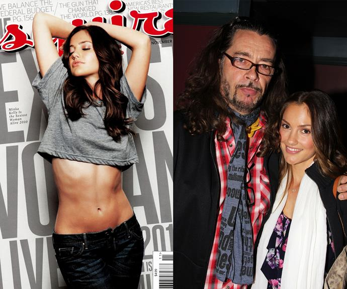 Actress Minka Kelly's (Friday Night Lights, Charlie's Angels) dad, Aerosmith guitarist, Rick Dufay, didn't own up to being her father for years, but the father-daughter duo have recently reconciled.