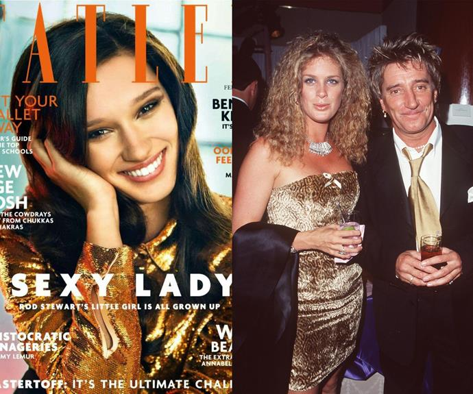 But it's not her first rodeo - she was photographed for Tatler last year. And with a mother like Rachel Hunter - you can see where she gets it from.
