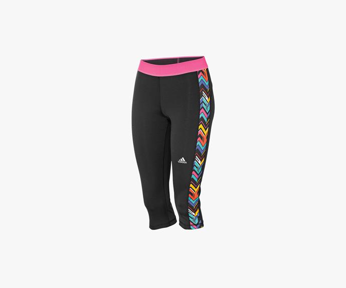 [Adidas Techfit Women's 3/4 Tights $40](http://www.rebelsport.com.au/Product/adidas-Techfit-Women-s-3-4-Tights/36624201?menuFrom=20202)