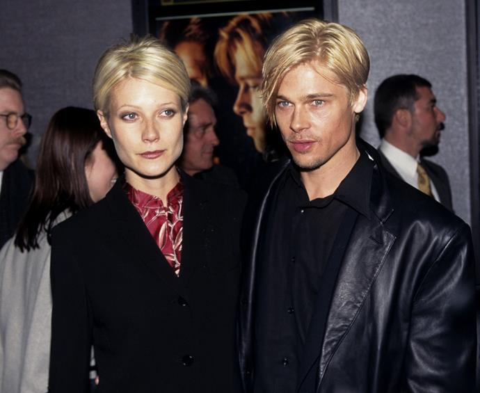 Gwyneth Paltrow and Brad Pitt practically morphed into one another when they were an item.
