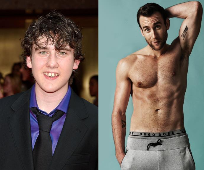 Harry Potter fans, avert your eyes now! Can you believe Neville Longbottom aka Matthew Lewis looks like this now?