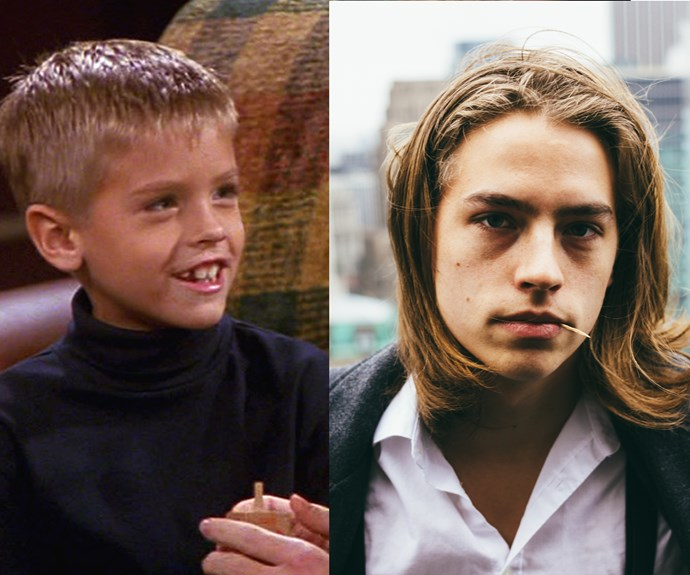 Remember Ross' son, Ben, from Friends? Well, he's all grown up now...