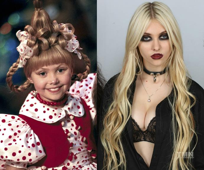 We guess Taylor Momsen decided she didn't like the cookie-cutter look.