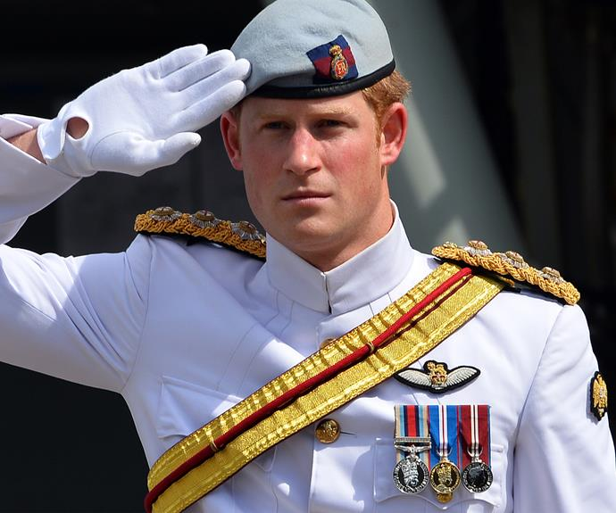 The Prince has recently retired from the Army.