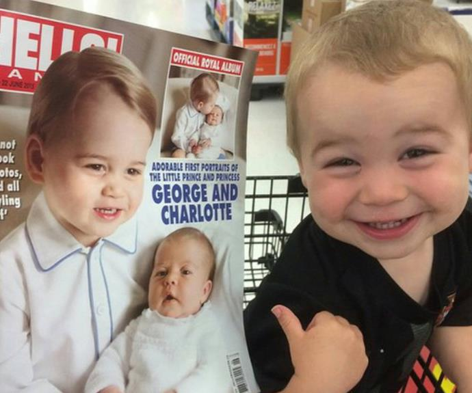 """My godson think he's the Royal Prince"" - uhh, we're not convinced he isn't."