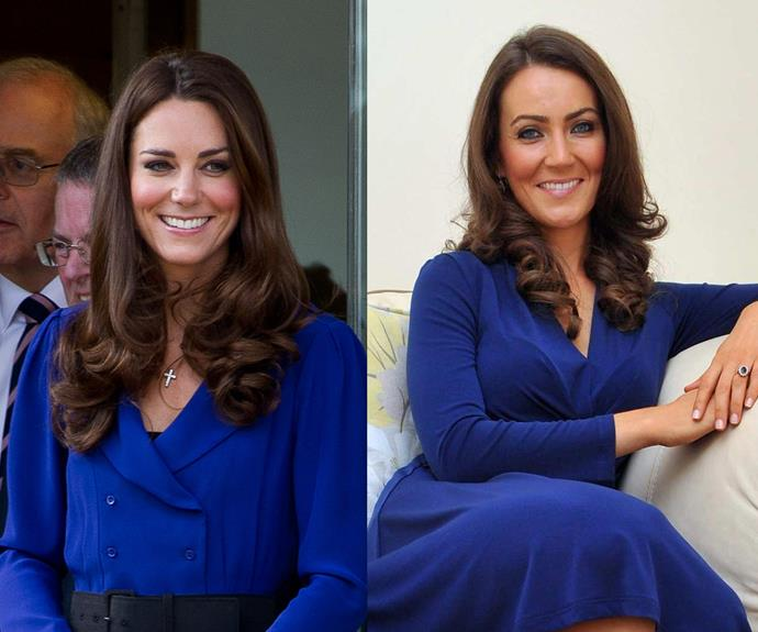 But Tommy isn't the only royal lookalike - Heidi Agan's Kate Middleton impression isn't too bad at all.