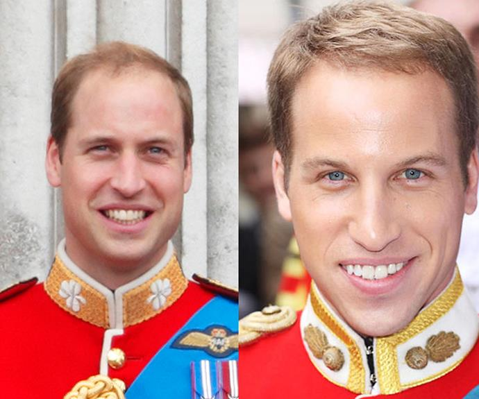 He's certainly got the nose right - what do you think about Simon Watkin's Prince William?