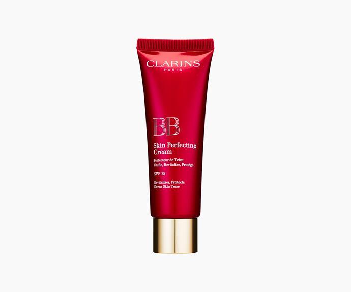 **Clarins BB Skin Perfecting Cream SPF25, $50**