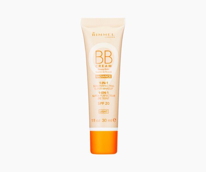**Rimmel London BB Cream Radiance SPF 20, $12.95**