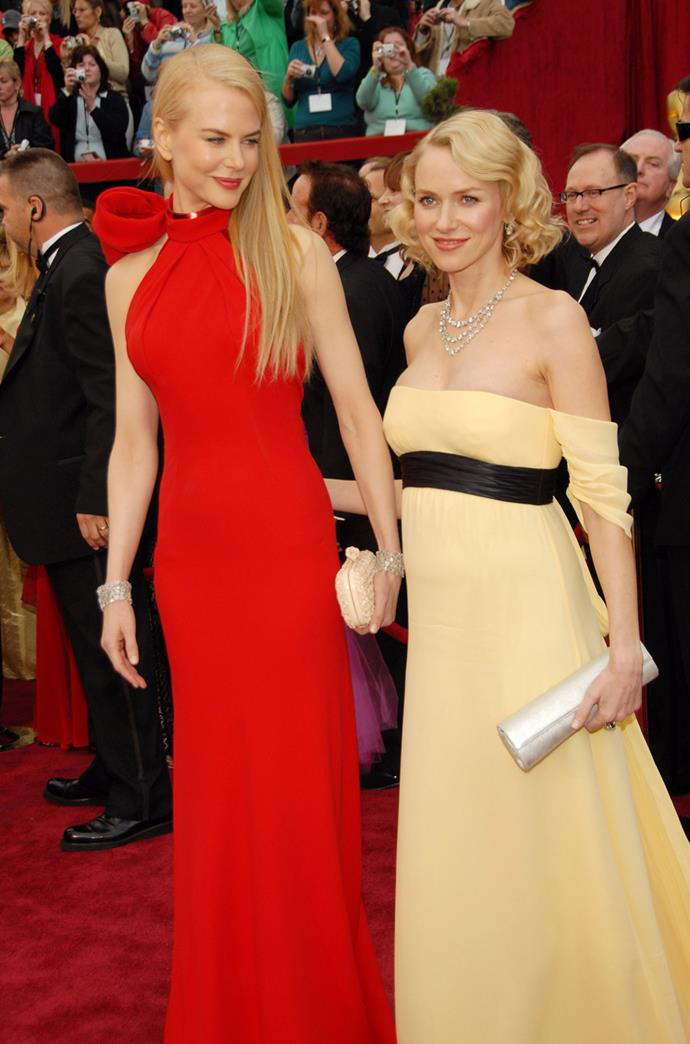 At the Academy Awards in 2007, the pair walked the red carpet together, looking like quite the vision.