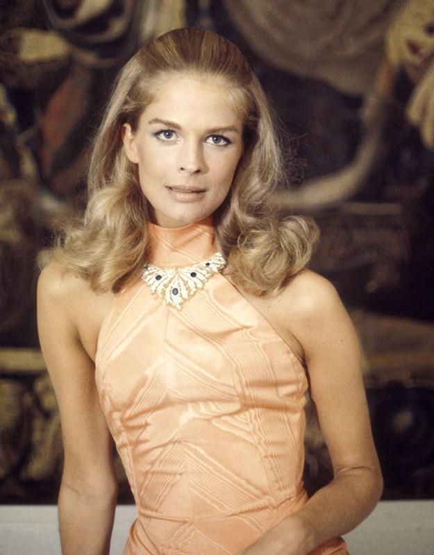 Candice Bergen in 1969 in Rome, Italy.