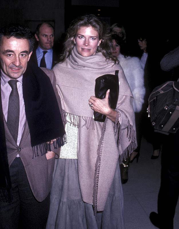 Candice and first husband Louis Malle.