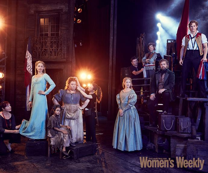 The cast of *Les Miserables*.