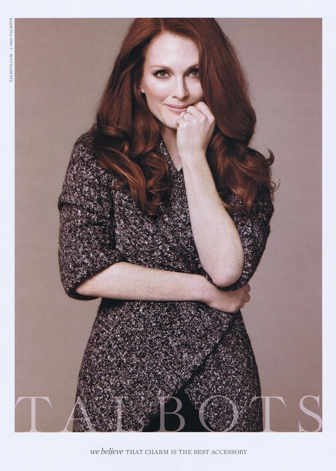 Julianne Moore for Talbots' 2011 Fall campaign.