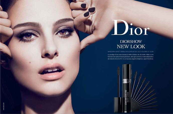 Natalie Portman for Christian Dior.