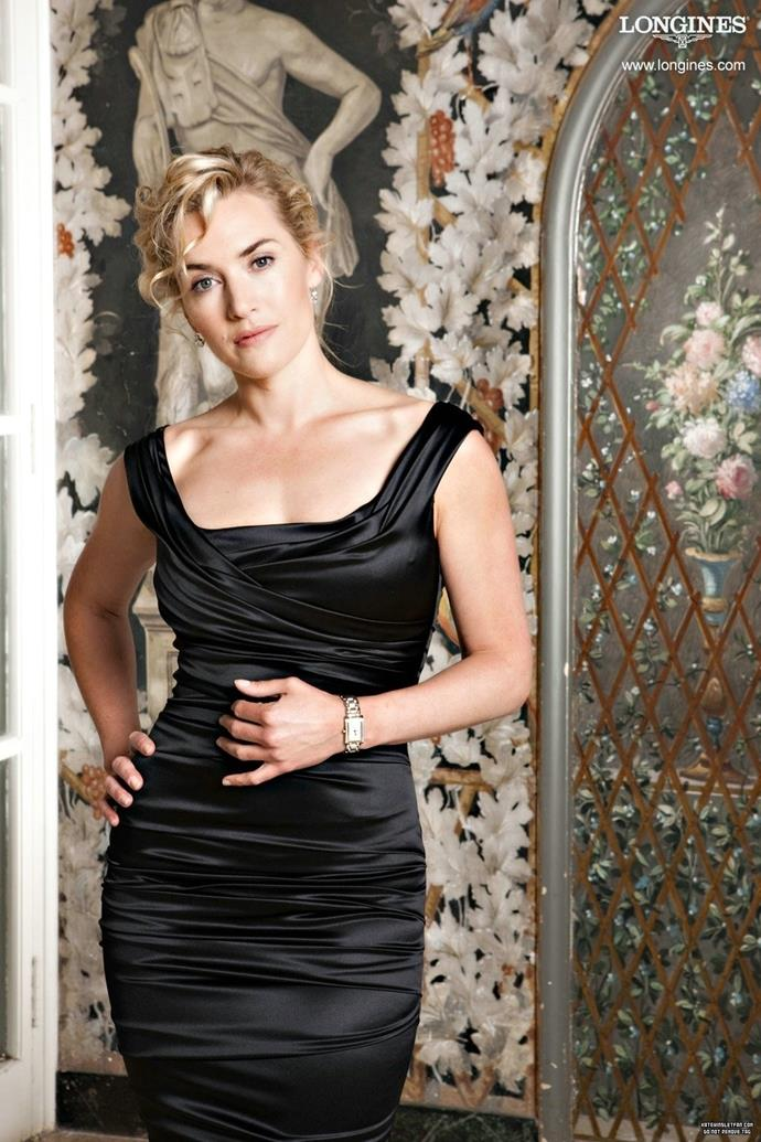 Kate Winslet for Longines.