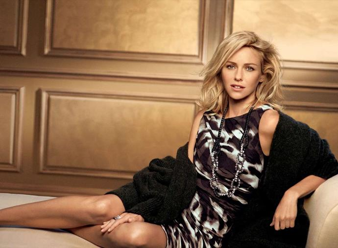 Naomi Watts for Ann Taylor's Spring 2011 campaign.