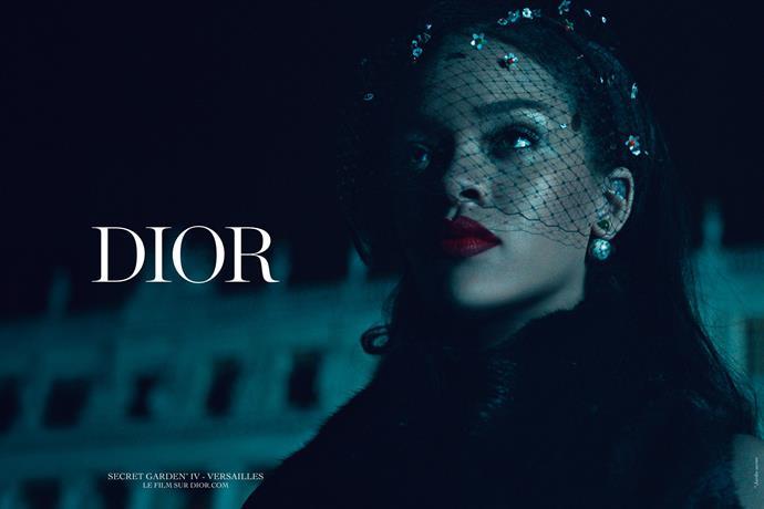 Rihanna for Christian Dior.